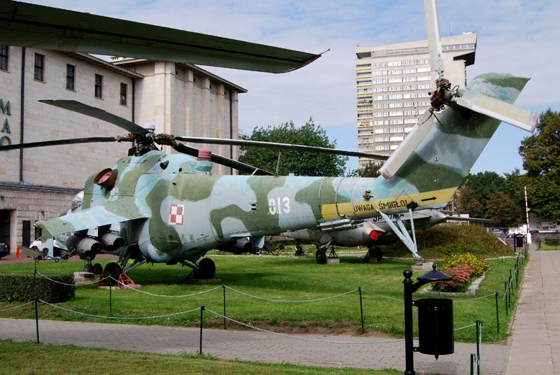 Mil Mi 24d Muzeum Wojska Polskiego Warszawa